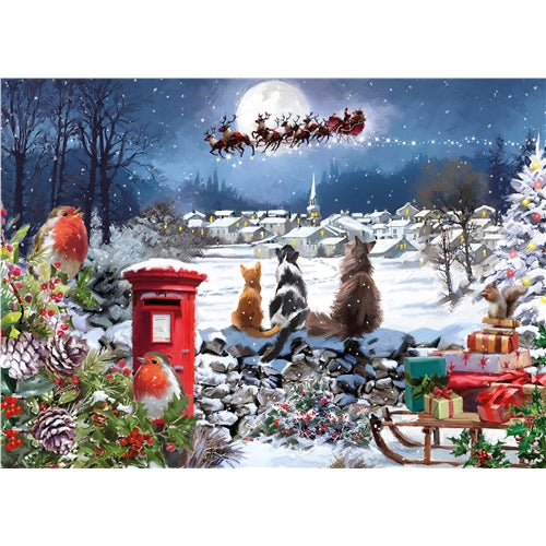 1000 piece  Jigsaw - Christmas Delivery