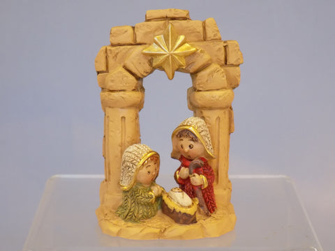 Mini Holy Family Ornament