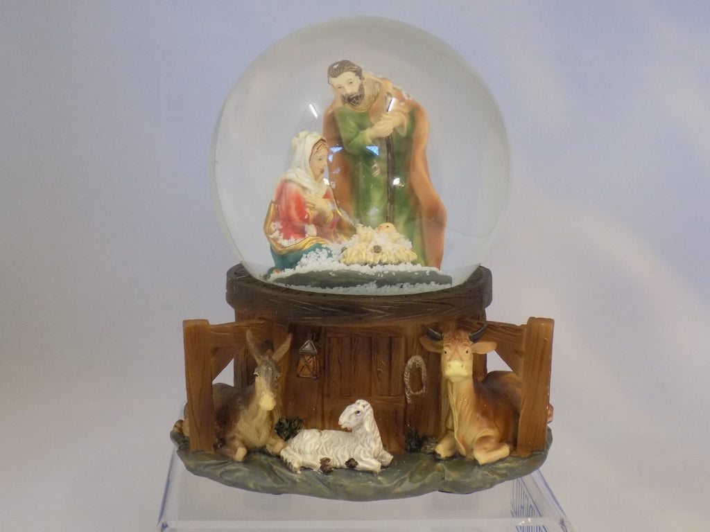 Musical Holy Family Waterball