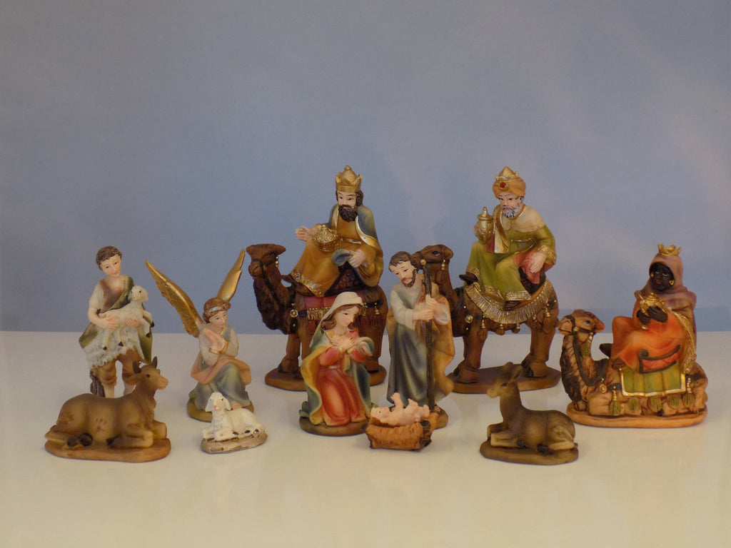 Small Nativity Set with Camels