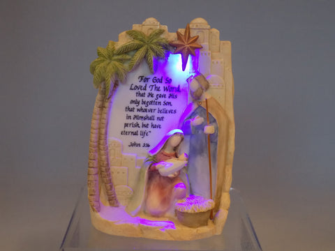 Light Up Holy Family with John 3:16