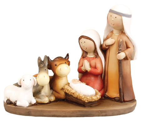 Children's Resin Nativity Piece