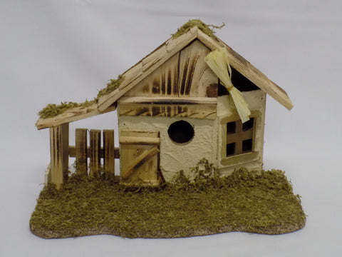 Unique Wooden Nativity Shed