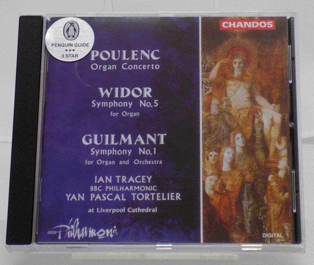 Poulenc Organ Concerto CD