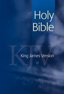 KJV - Standard text edition - blue Bibles