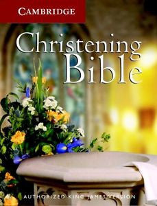 KJV - Gift edition christening bible - Bibles