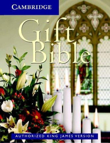 KJV - Gift edition bible - white Bibles