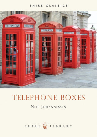 Telephone Boxes Book - red