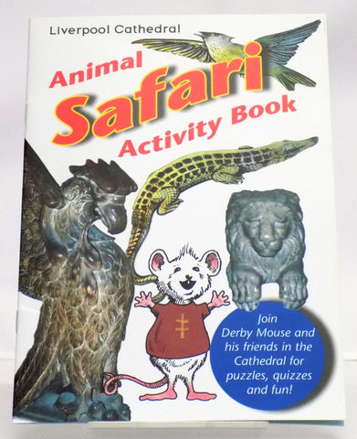 liverpool cathedral animal safari activity book
