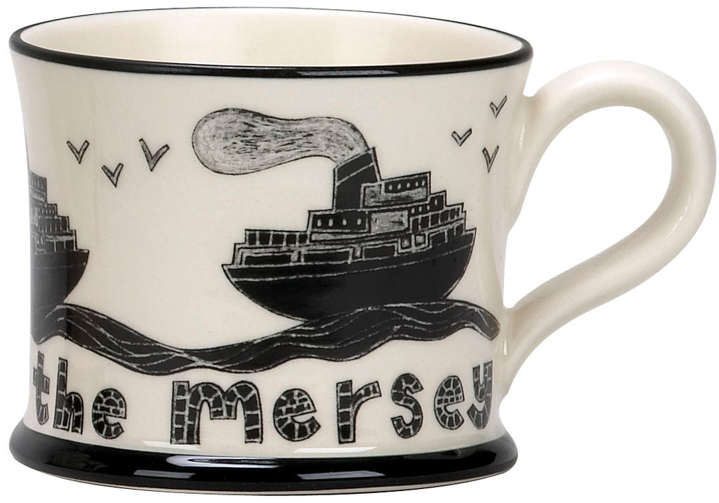 """Ferry Across The Mersey"" Ceramic Mug"
