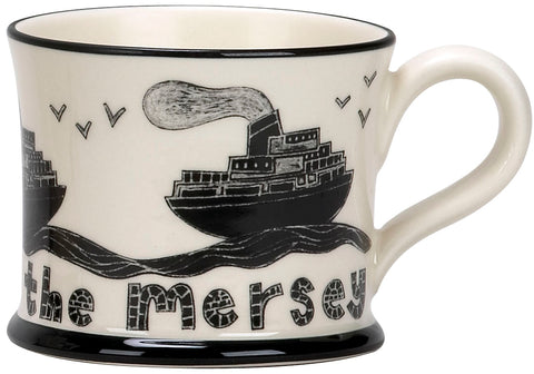 """Ferry Across The Mersey"" Mug"