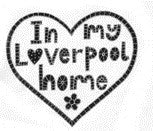 """In My Liverpool Home - Heart"" Coaster"