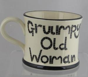 """Grumpy Old Woman"" Ceramic Mug"