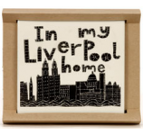 """In My Liverpool Home"" Coaster"