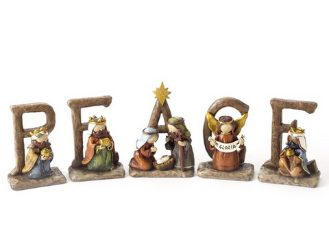 Nativity Peace Letter Set