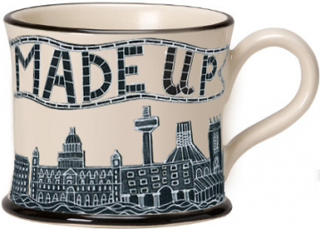 """Made Up"" Ceramic Mug"