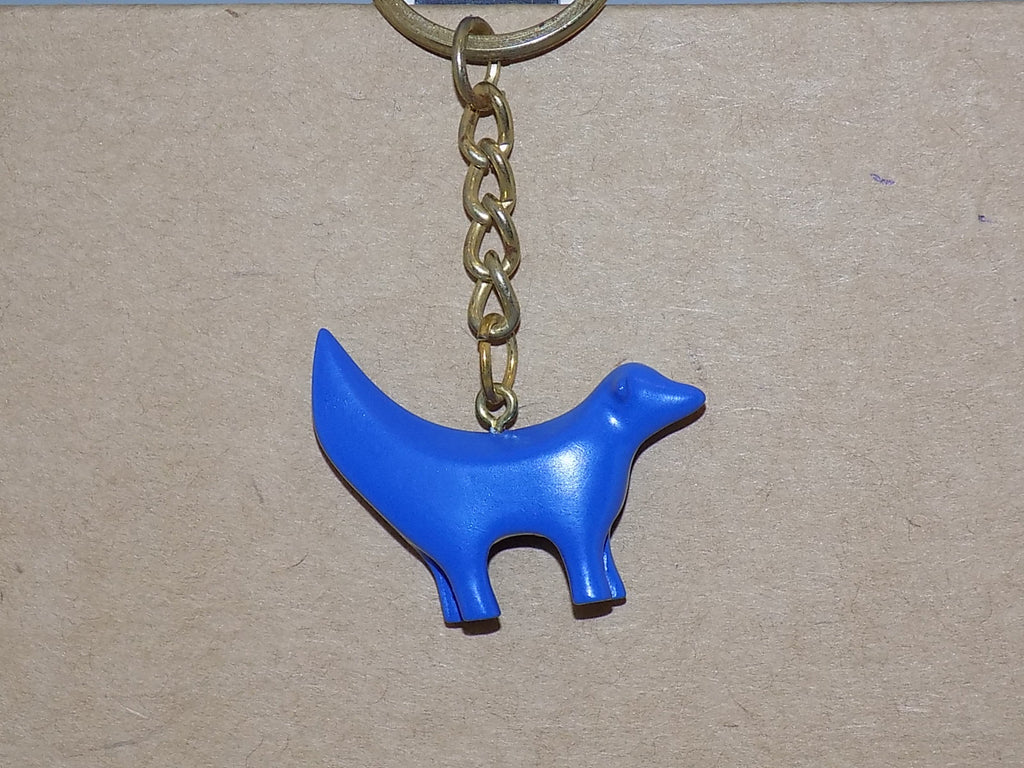 Resin SuperLambanana Keyring - blue Superlambanana