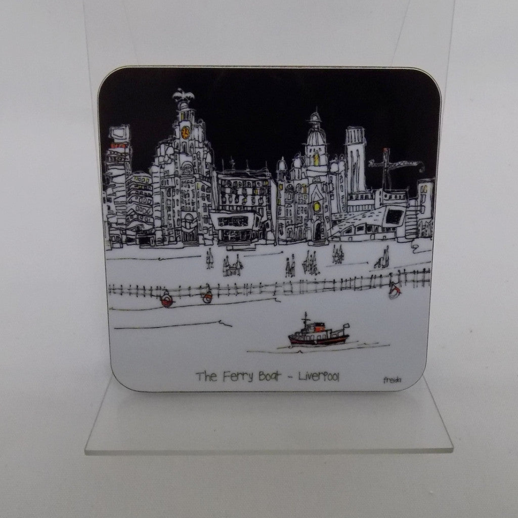 Freida McKitrick Assorted Liverpool Coasters