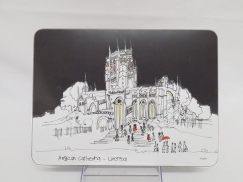 Freida McKitrick Liverpool Cathedral Placemat