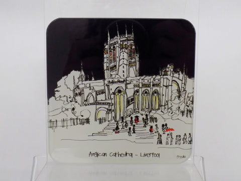 Freida McKitrick Glass Liverpool Cathedral Coaster