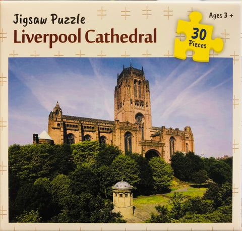 30 piece  Jigsaw - Liverpool Cathedral