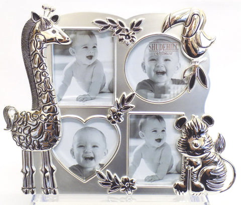 jungle animals picture frame