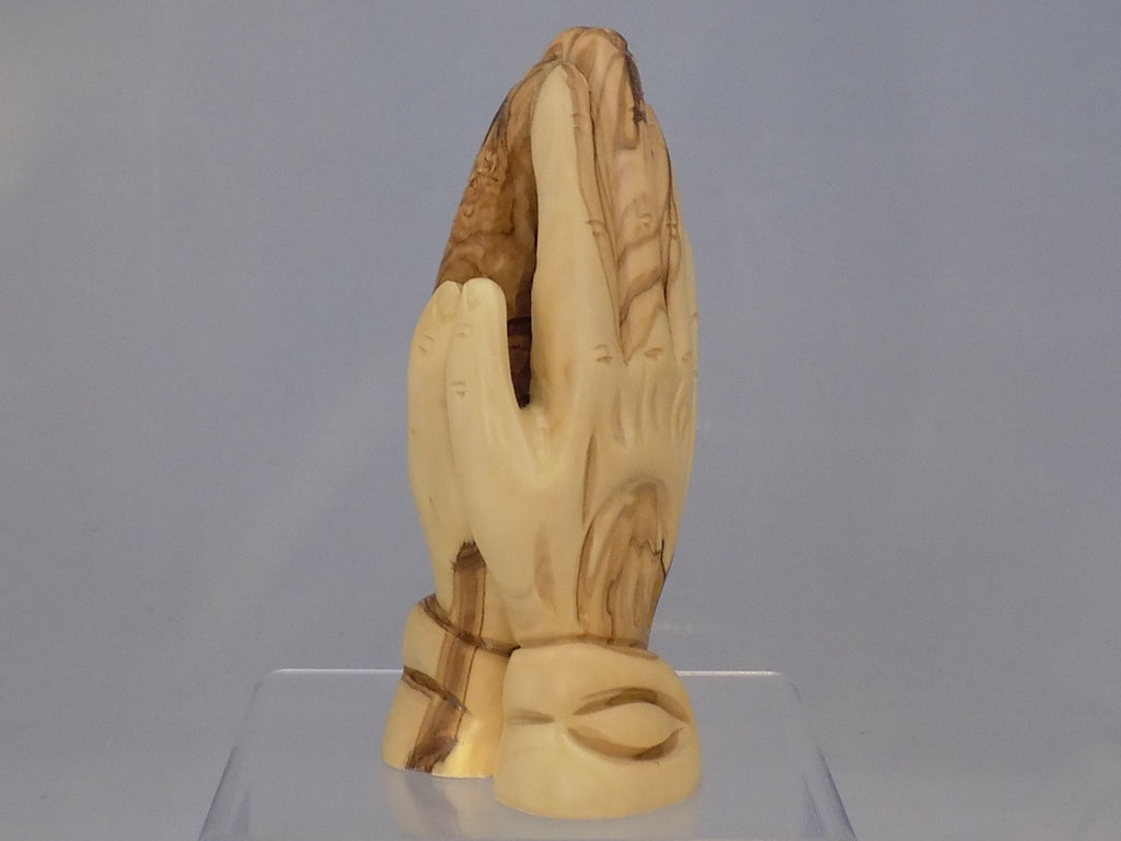 Olivewood Praying Hands