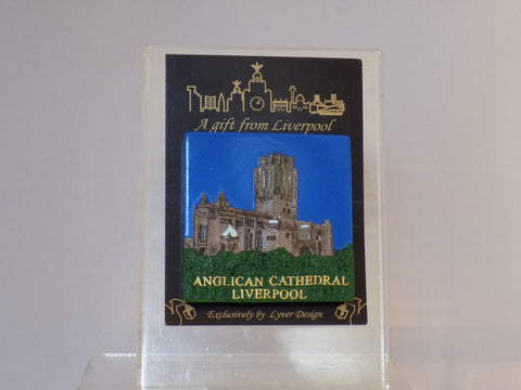 Liverpool cathedral 3D fridge magnet