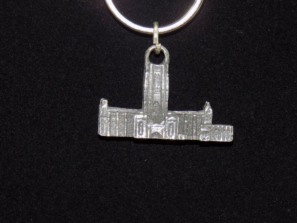 liverpool cathedral pewter key ring