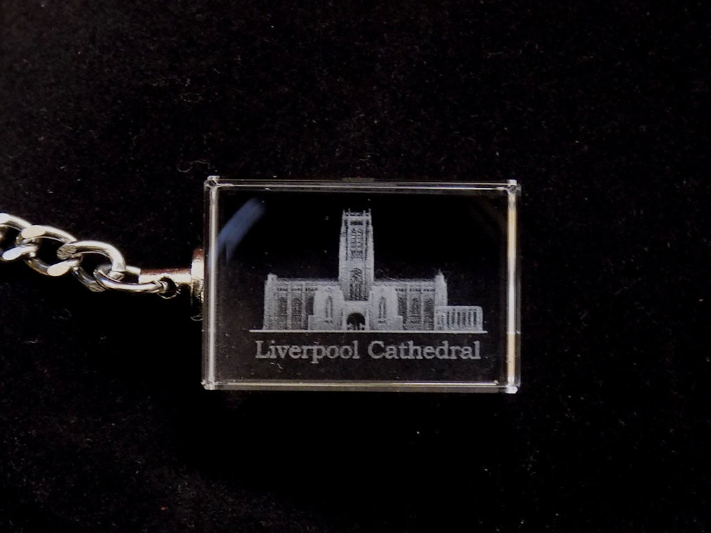 liverpool cathedral glass keyring
