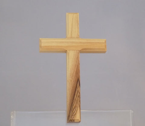 "Olivewood 4"" Plain Cross - Cross"