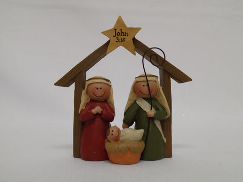 John 3:16 Nativity Ornament