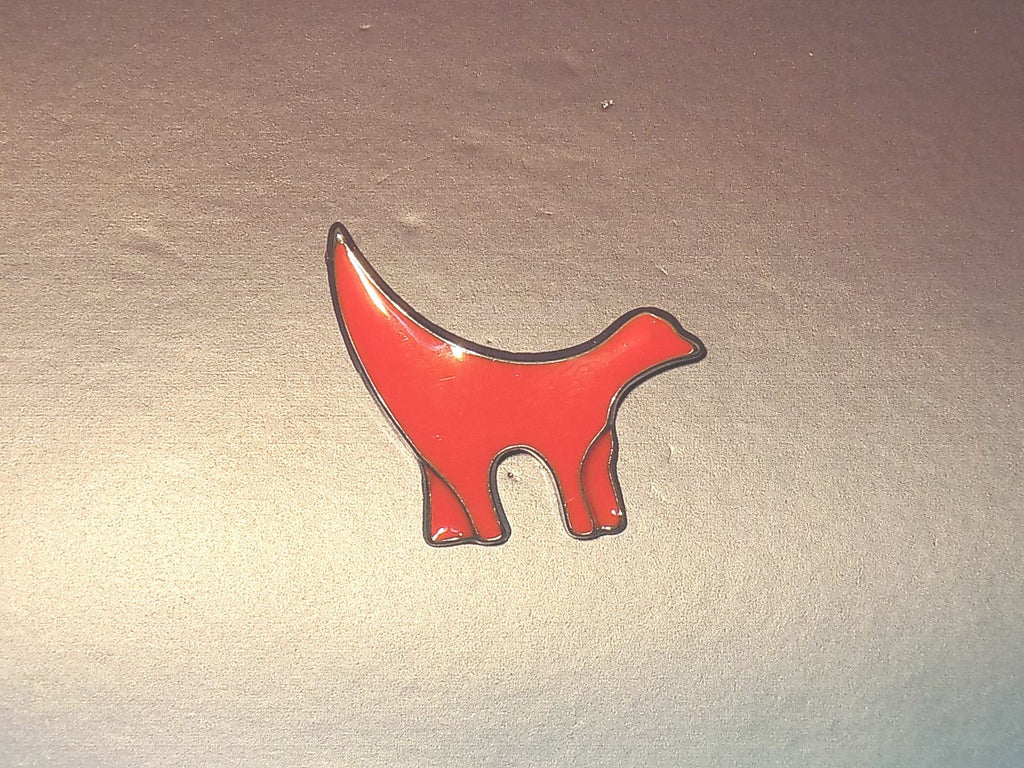 SuperLambanana Pin Badge - red Superlambanana