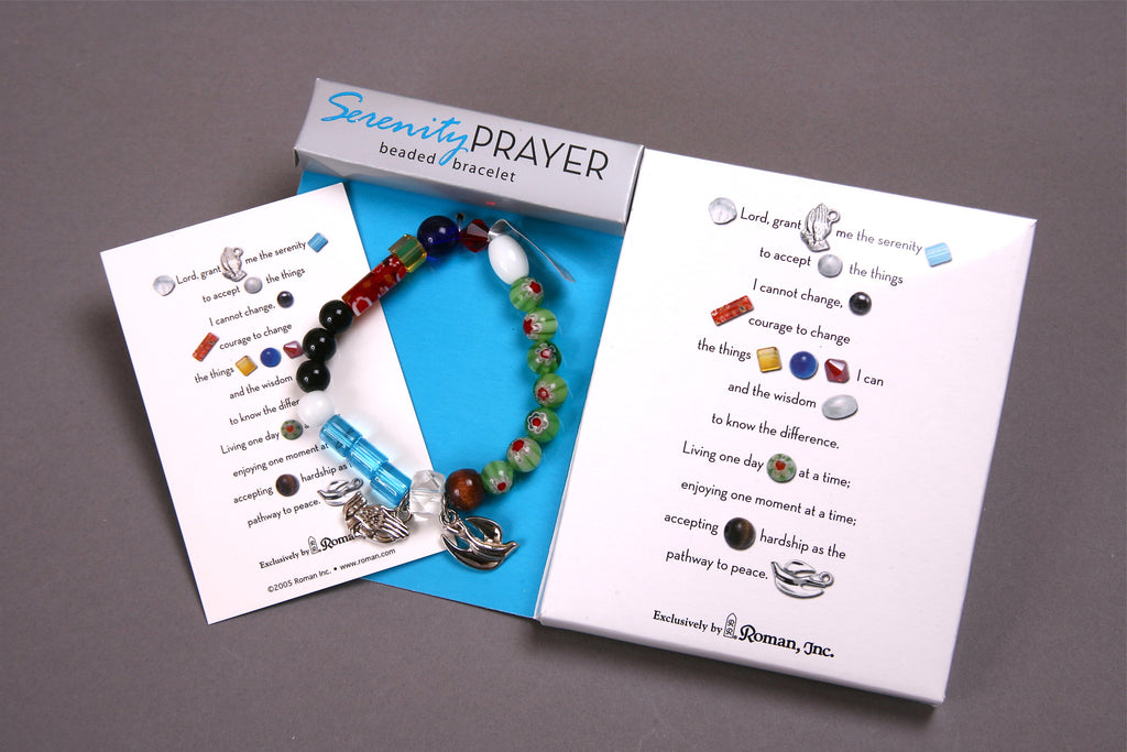 Serenity Prayer Beaded Bracelet