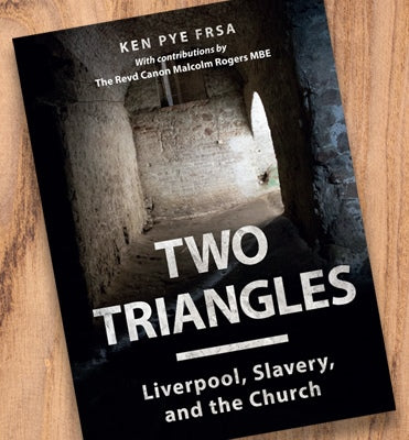 Two Triangles by Ken Pye