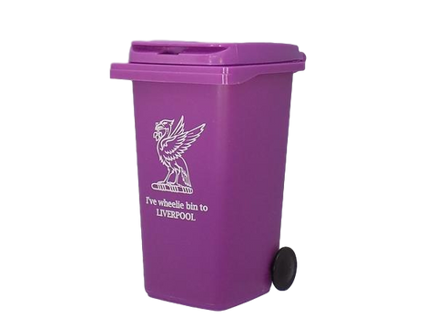 Liverpool Wheelie Bin Desk Tidy