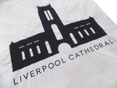 Liverpool Cathedral Cotton Tote Bag