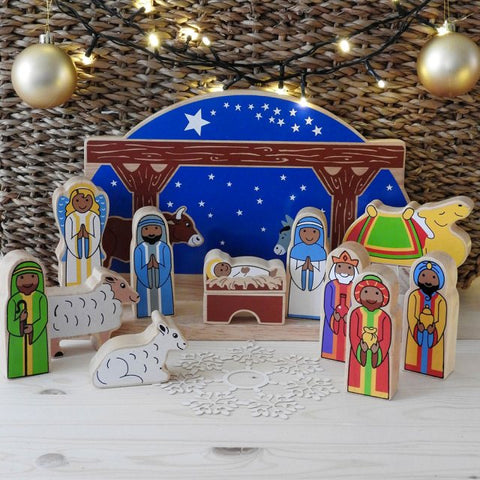 Deluxe Starry Night Nativity