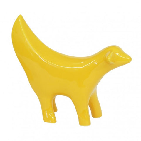 Yellow Ceramic Superlambanana