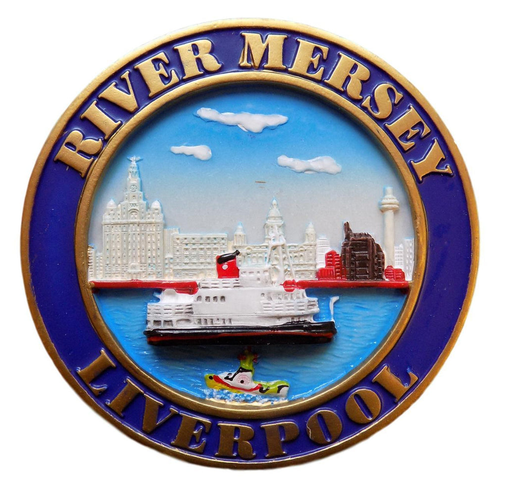River Mersey 3D Fridge Magnet