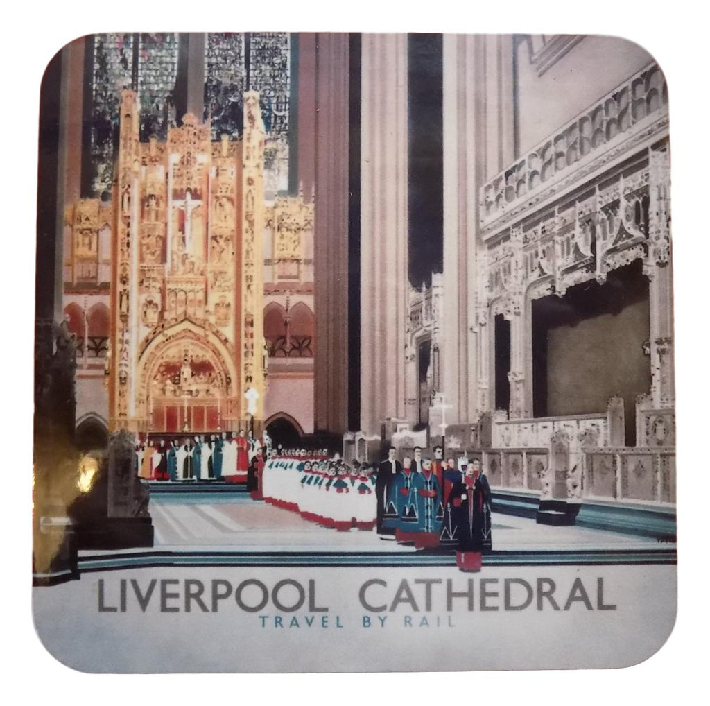 Dave Thompson Coasters - Liverpool Cathedral Interior