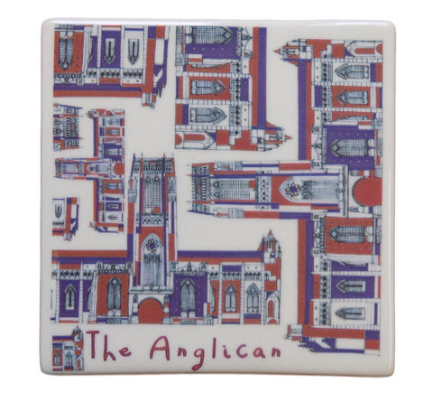 Liverpool Cathedral Ceramic Coaster