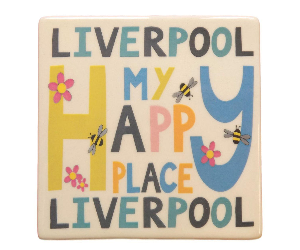 Liverpool - My Happy Place Coaster