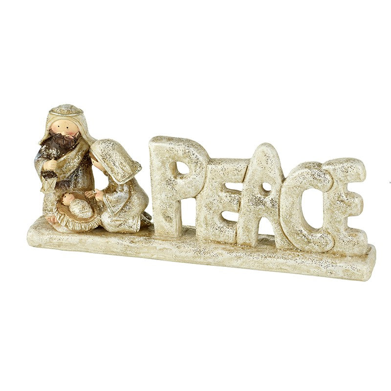 Nativity Peace Sign