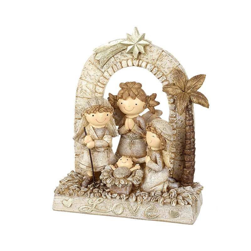 'Love' Nativity Scene Ornament