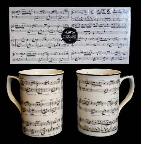 Making Music Mugs Set of 2 (Boxed)