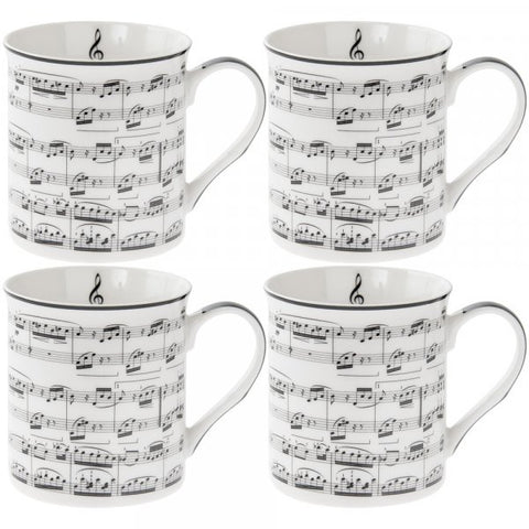 Making Music Mugs Set of 4 (Boxed)