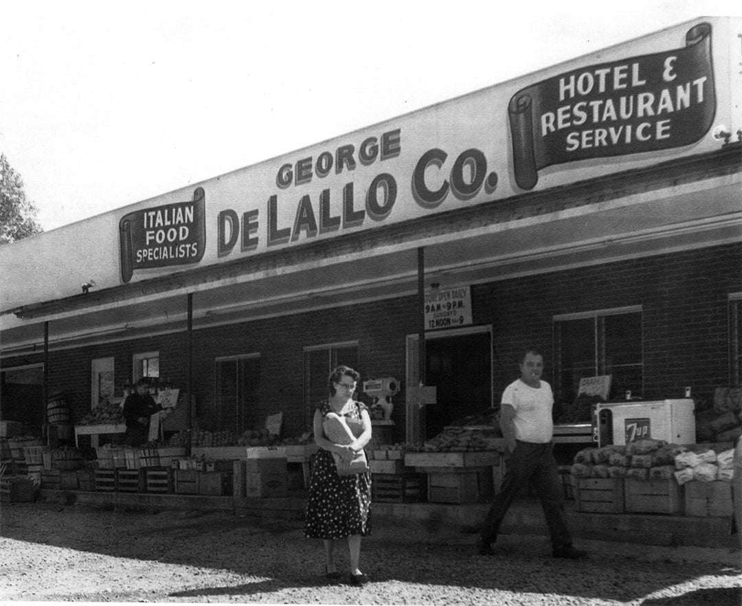 Old DeLallo Marketplace Storefront