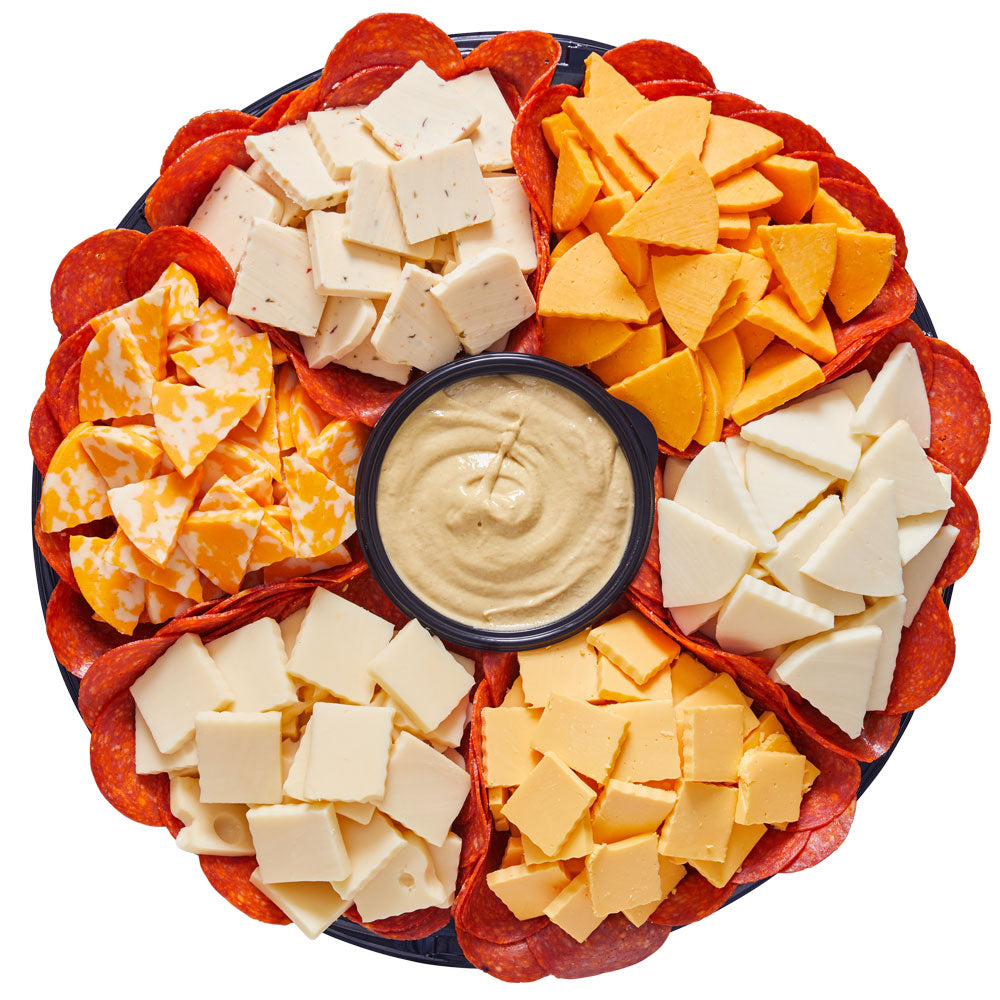Cubed Cheese Platter