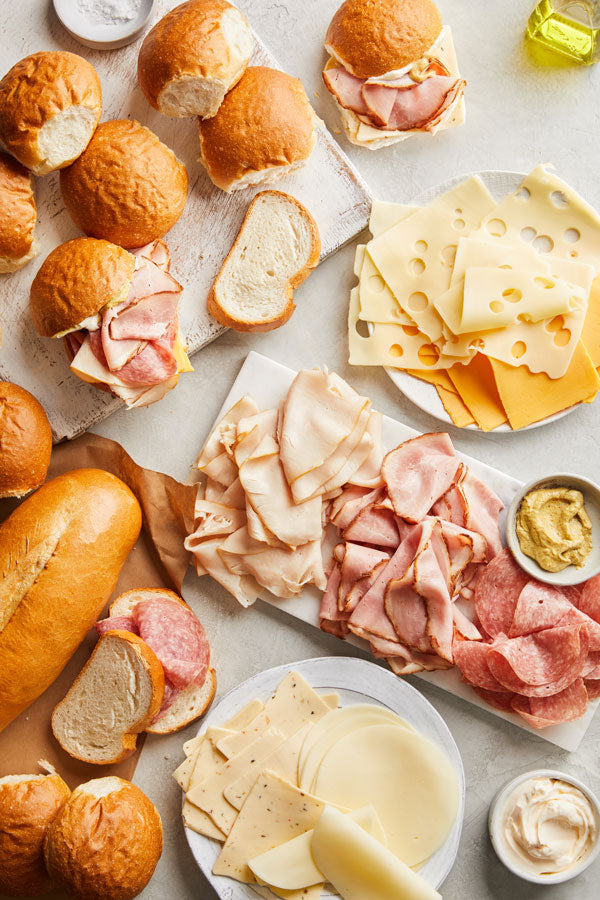 Classic Deli Meats & Cheeses - Pick Up 'N Go Bag